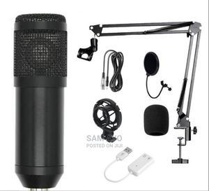 BM800 Studio Condenser Microphone Full Set   Audio & Music Equipment for sale in Lagos State, Ojodu