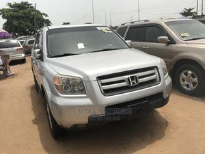 Honda Pilot 2008 Silver   Cars for sale in Lagos State, Apapa