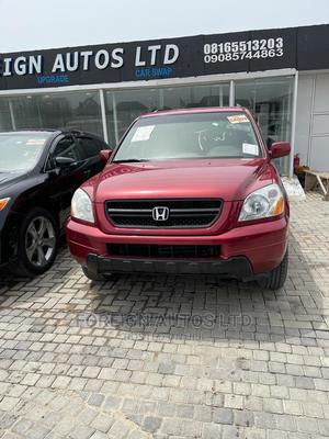 Honda Pilot 2005 Red   Cars for sale in Lagos State, Lekki