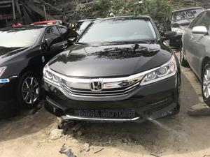 Honda Accord 2016 Black   Cars for sale in Lagos State, Apapa