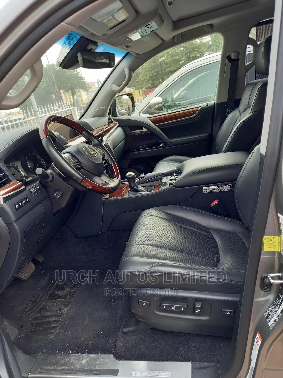 Lexus LX 2018 570 Three-Row Gold | Cars for sale in Wuse 2, Abuja (FCT) State, Nigeria