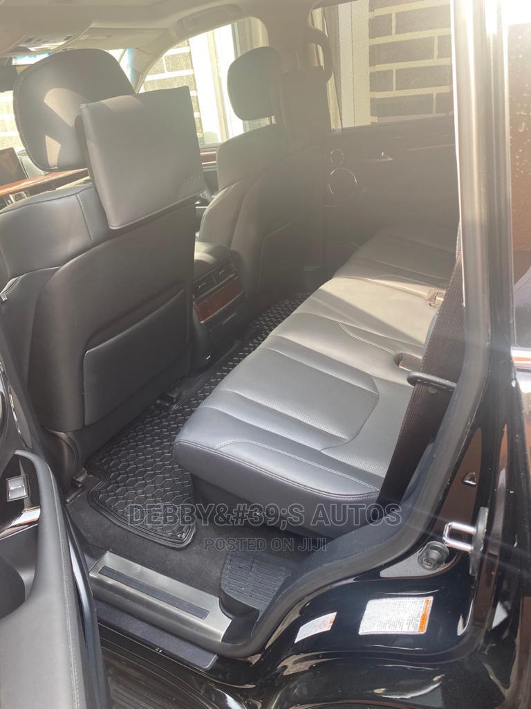 Archive: Lexus LX 2020 570 Three-Row Black