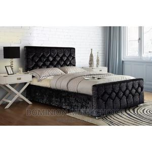 Upholstery Bed 4 1⁄2 | Furniture for sale in Lagos State, Lekki