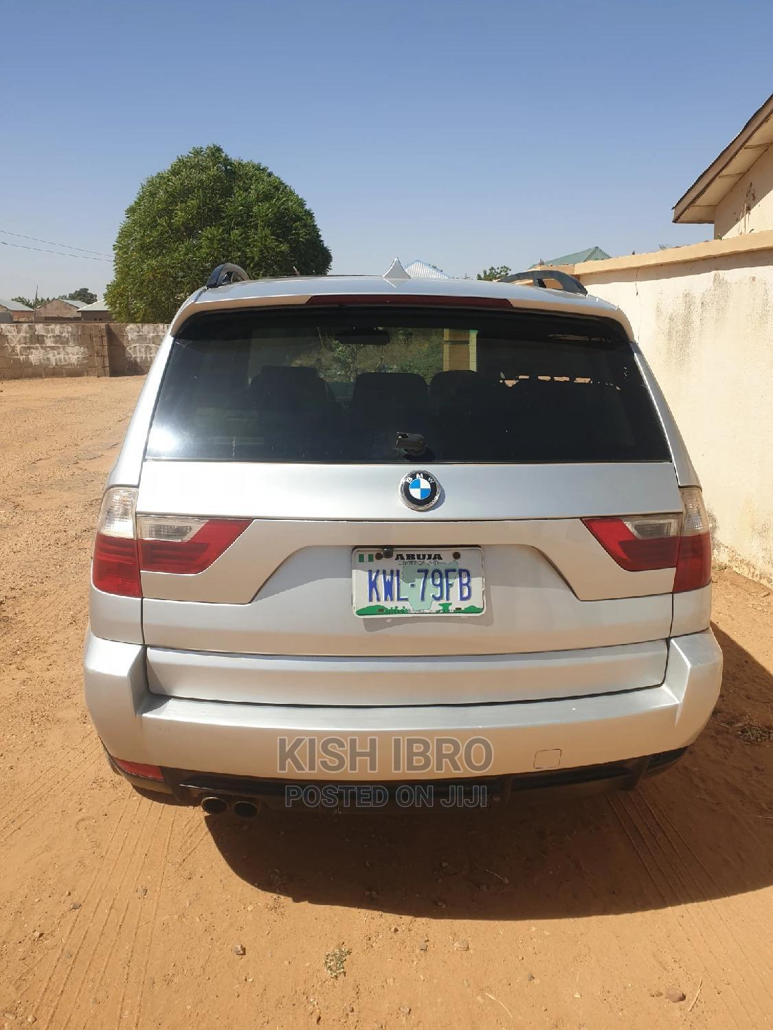 BMW X3 2008 3.0i Sport Automatic Silver | Cars for sale in Wuse 2, Abuja (FCT) State, Nigeria