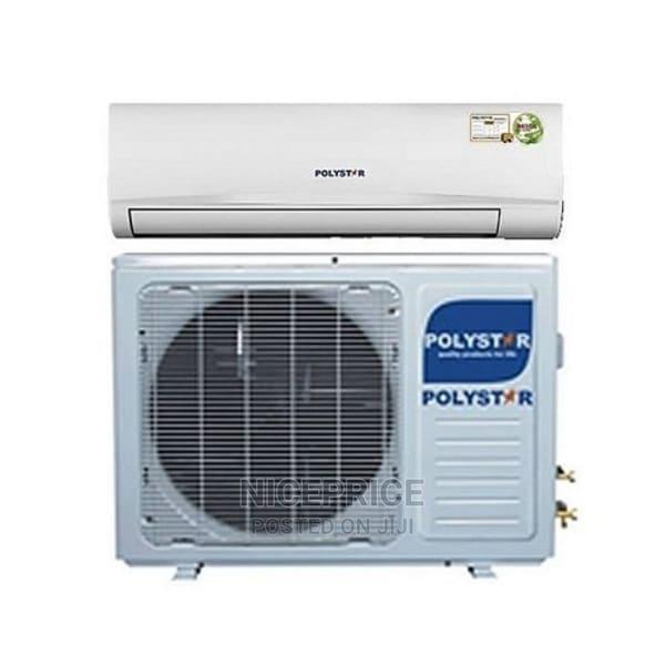 Polystar 1hp Inverter Air Conditioner + Installation Kit