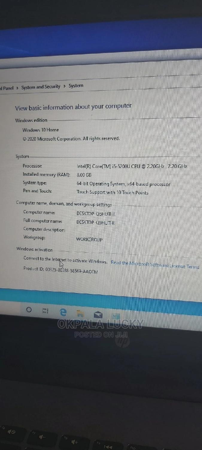 Laptop HP Stream Notebook 8GB Intel Core i5 HDD 1T | Laptops & Computers for sale in Owerri, Imo State, Nigeria