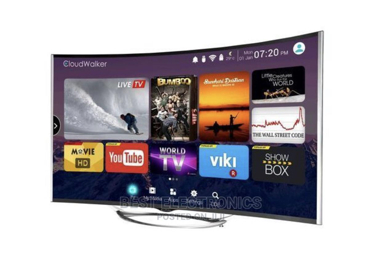 Polystar 43 Inches SMART CURVED LED TV + Free Wall Bracket