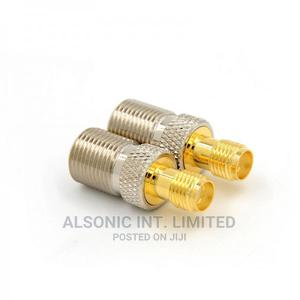 F Female Type Jack to SMA Female Plug Straight RF Coax Adapt | Manufacturing Equipment for sale in Abuja (FCT) State, Wuse 2