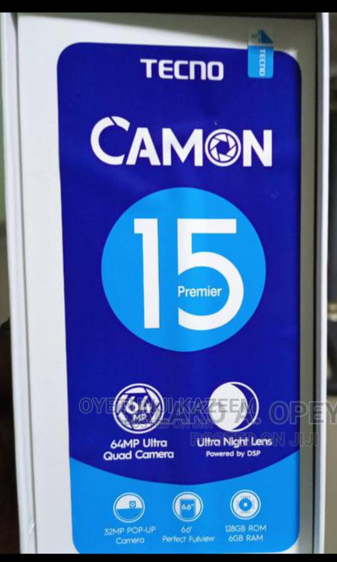 Tecno Camon 15 Premier 128 GB Green | Mobile Phones for sale in Osogbo, Osun State, Nigeria