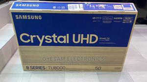 "New Samsung 50"" Crystal Uhd 4k Hdr Flat Slim Tv 2020model | TV & DVD Equipment for sale in Lagos State, Ojo"
