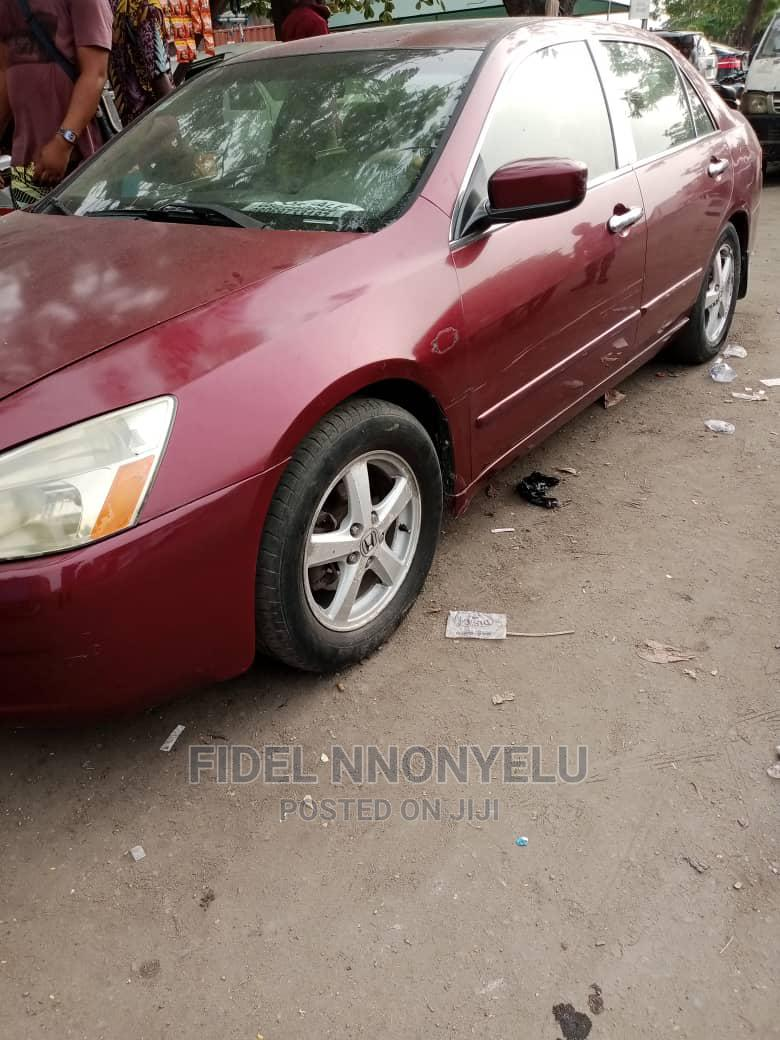 Honda Accord 2003 Red   Cars for sale in Amuwo-Odofin, Lagos State, Nigeria