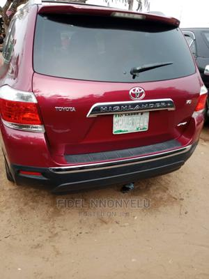 Toyota Highlander 2012 Limited Red | Cars for sale in Lagos State, Amuwo-Odofin