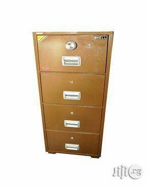 Fire Proof Safe Filing Cabinets (4 Drawers) Model -bif 400 | Safetywear & Equipment for sale in Lagos State, Yaba