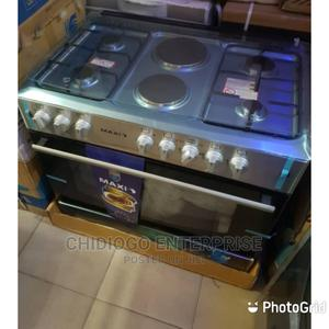 Quality Maxi 4 Gas Burner 2 Electric Burner With Oven | Kitchen Appliances for sale in Lagos State, Ojo