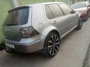 Volkswagen Golf 2005 1.6 Comfortline Silver | Cars for sale in Lagos State, Ikeja