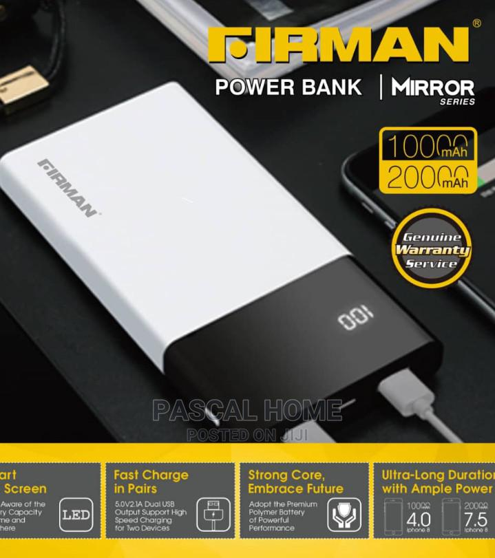 Firman Power Bank 20000mah | Accessories for Mobile Phones & Tablets for sale in Ojo, Lagos State, Nigeria