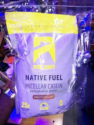 Ascent Native Fuel Micellar Casein Protein 2lb Powder | Vitamins & Supplements for sale in Lagos State, Ojo