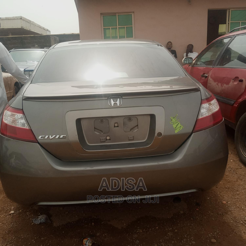 Honda Civic 2009 Gray   Cars for sale in Ibadan, Oyo State, Nigeria