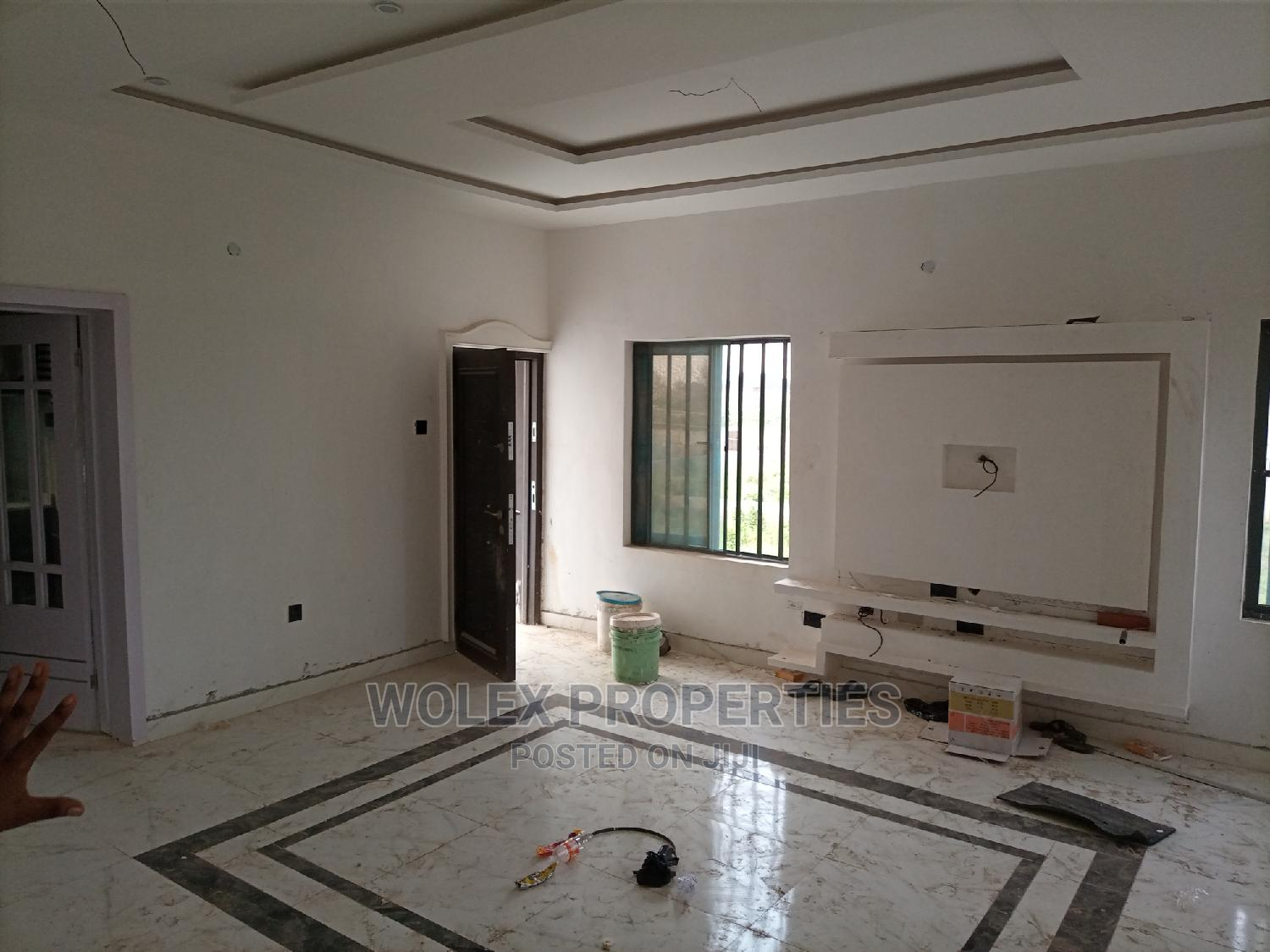 Newly Built 3 Brd Flat With Swimming Pool at P T Est Ipaja