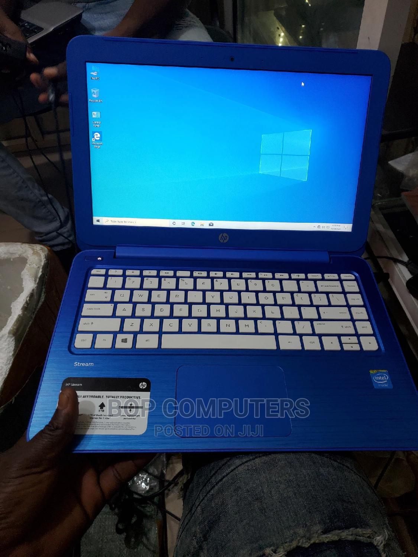 Laptop HP Stream 14 2GB Intel SSD 32GB | Laptops & Computers for sale in Ikeja, Lagos State, Nigeria