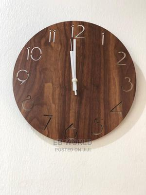 Wooden Wall Clock | Home Accessories for sale in Lagos State, Magodo