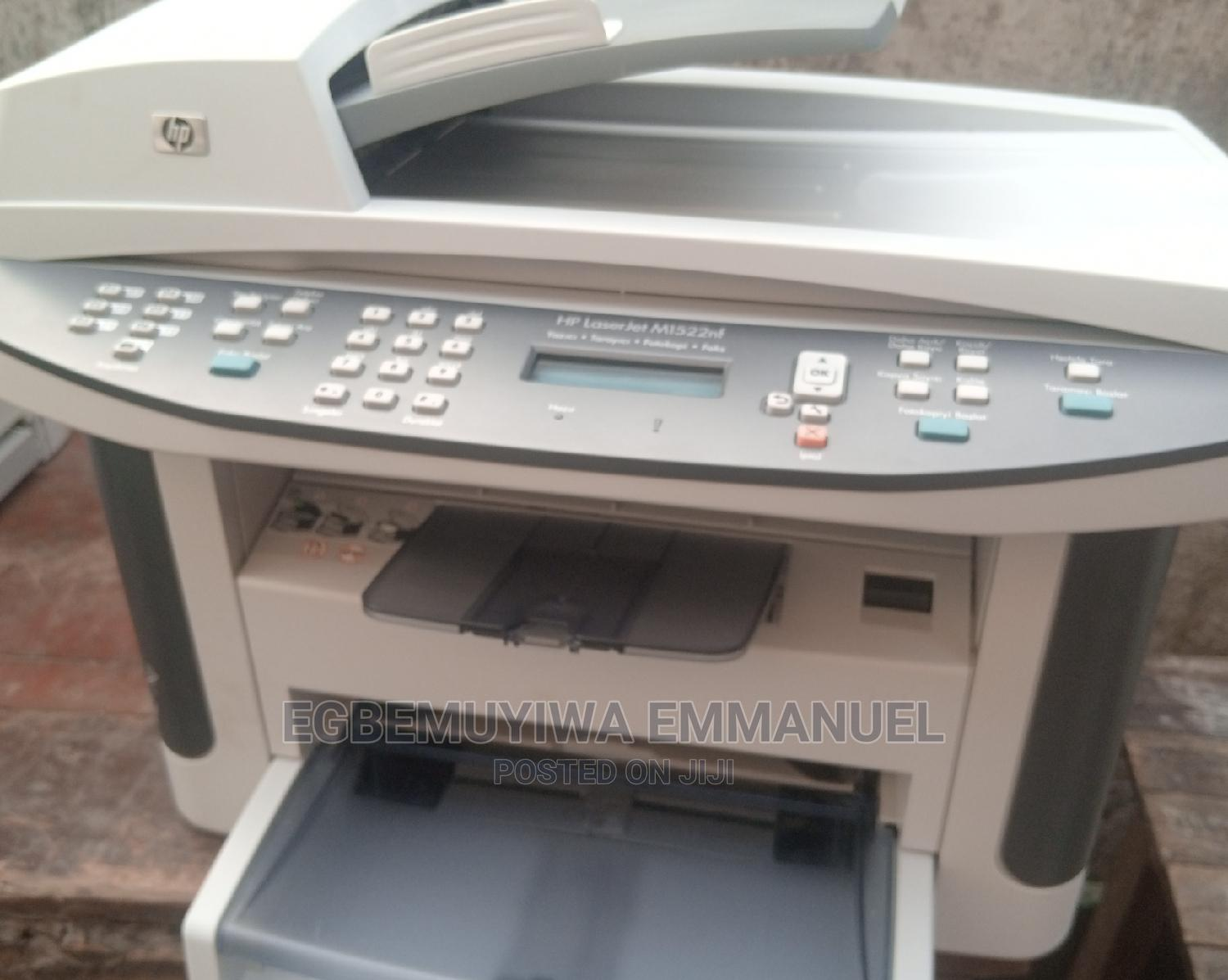 Hp Laserjet M 1522 3in1 Black And White   Printers & Scanners for sale in Surulere, Lagos State, Nigeria