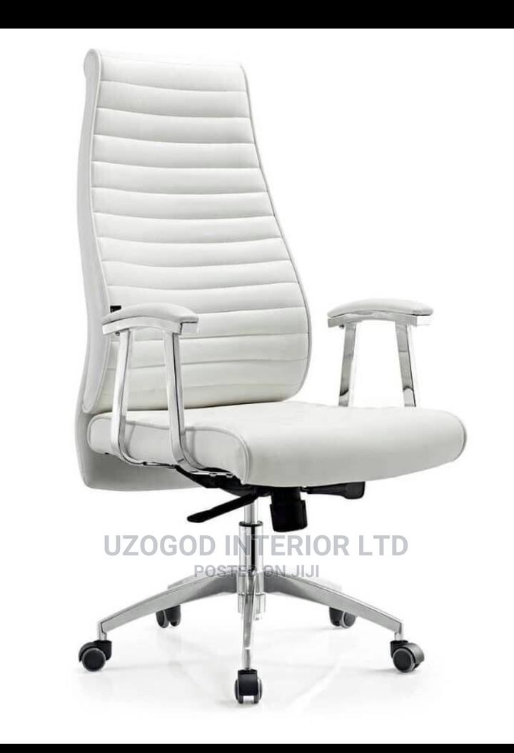 Office Executive Chair (White)