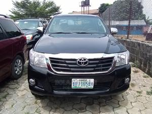 Toyota Hilux 2011 2.7 VVT-i 4X4 SRX Black | Cars for sale in Rivers State, Port-Harcourt
