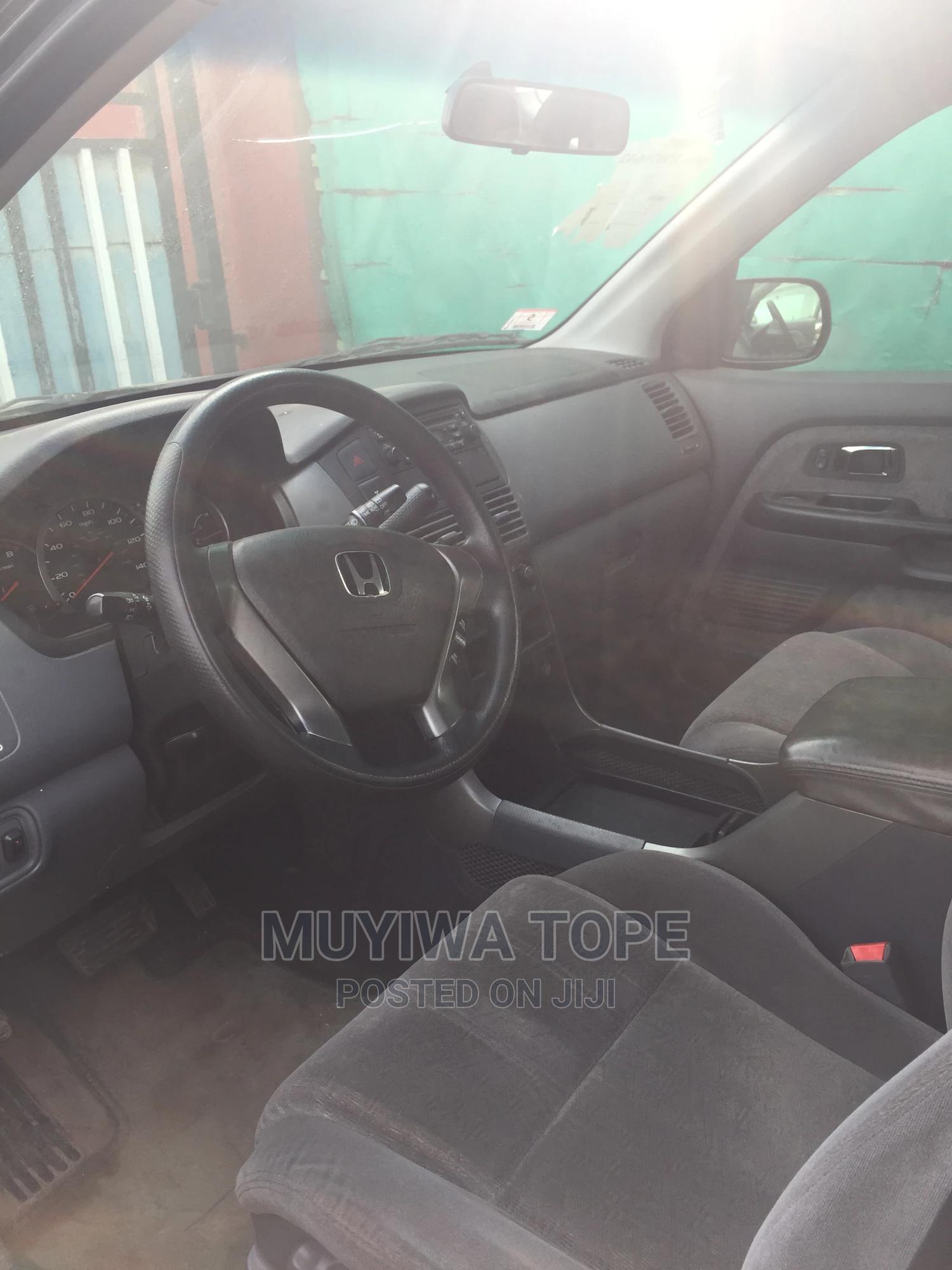 Honda Pilot 2003 LX 4x4 (3.5L 6cyl 5A) Black | Cars for sale in Egbe Idimu, Lagos State, Nigeria