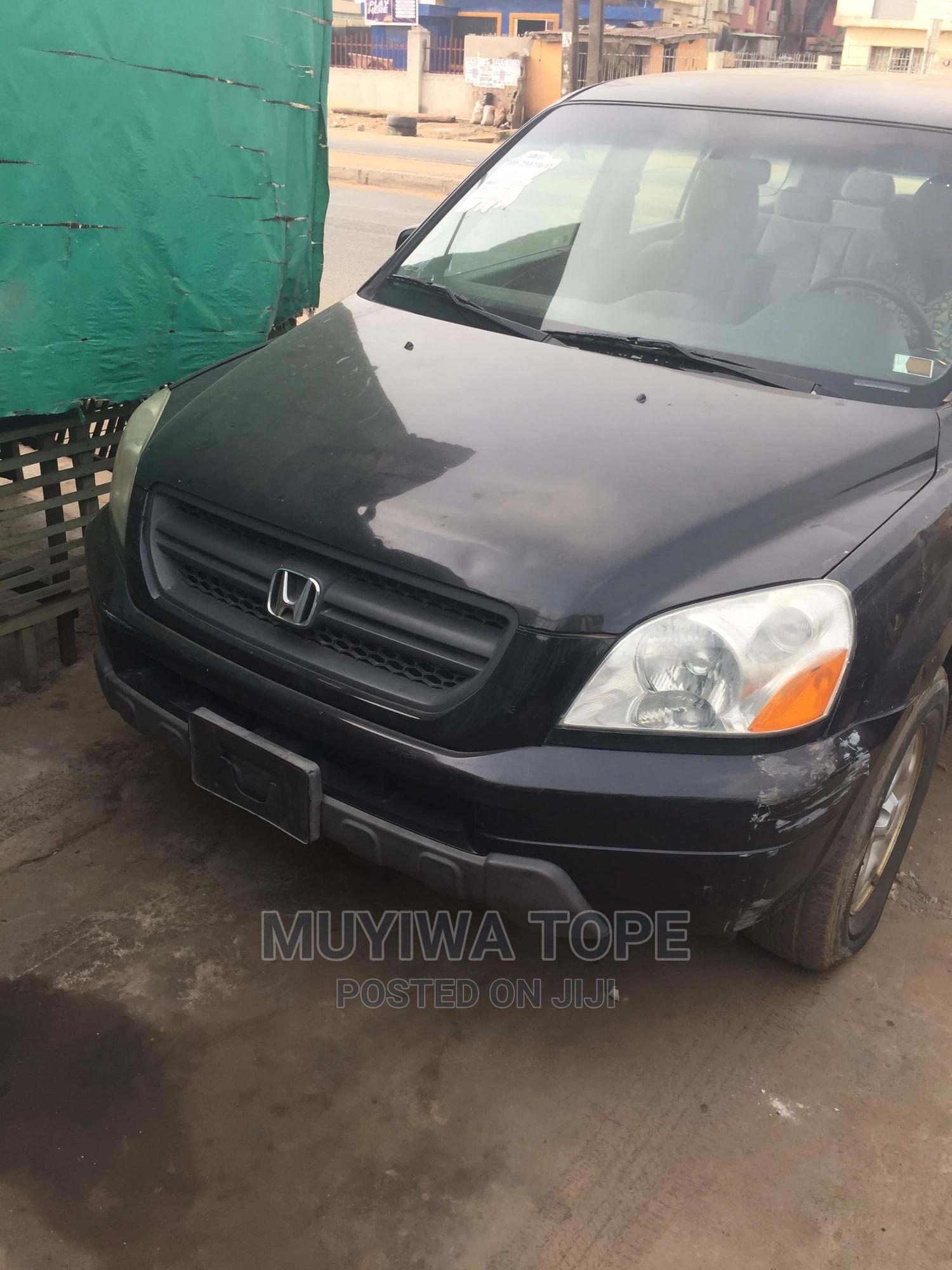 Honda Pilot 2003 LX 4x4 (3.5L 6cyl 5A) Black