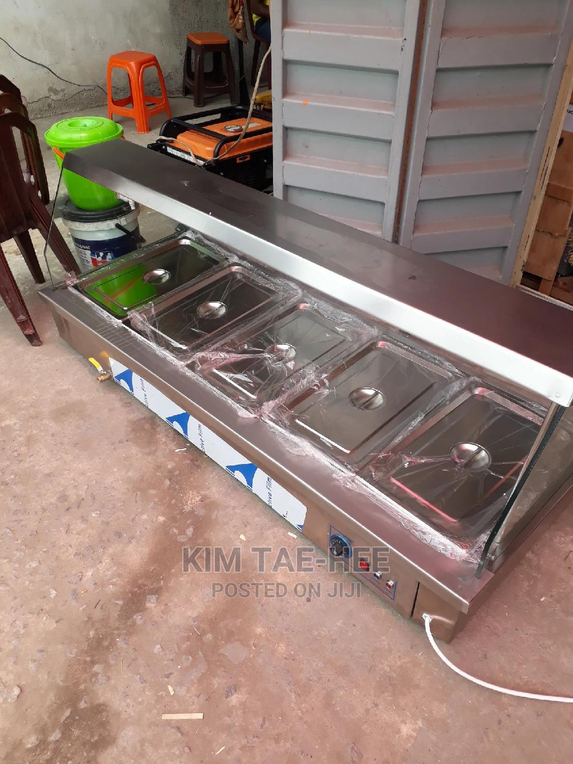 Archive: 5 Plate Food Display Warmer