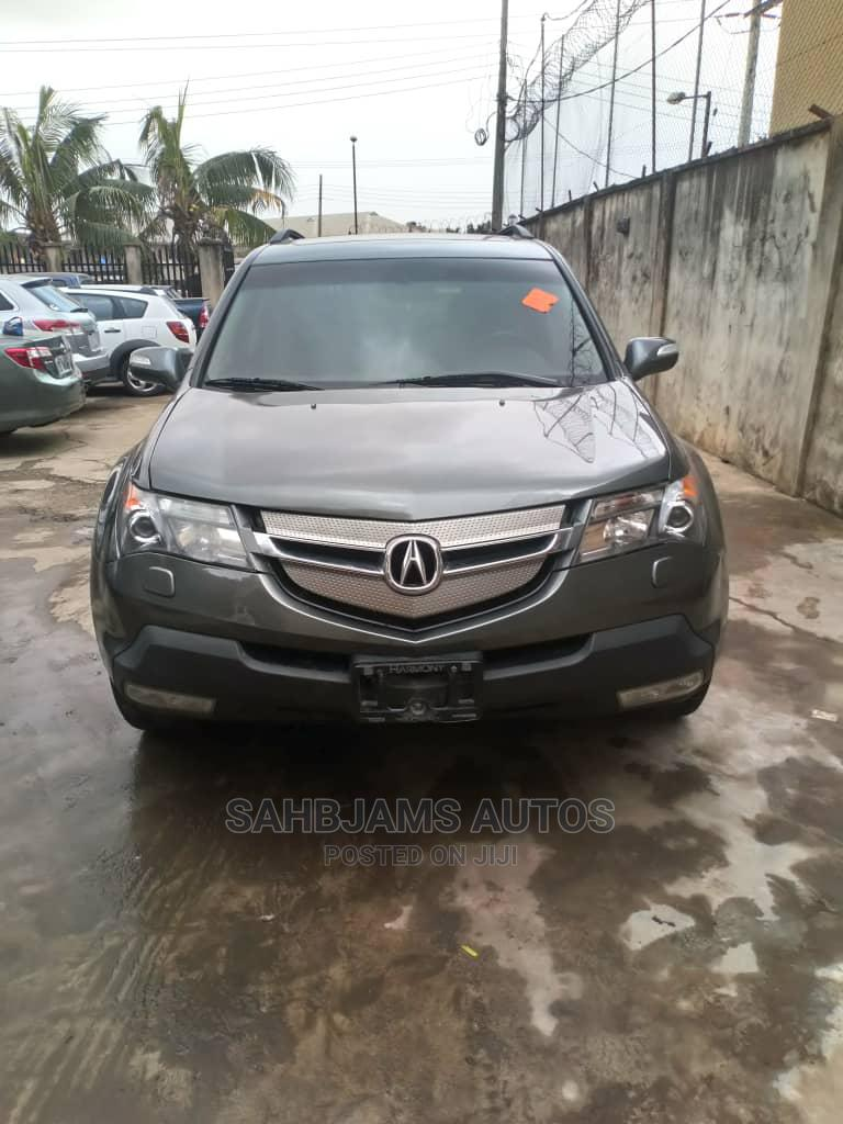 Acura MDX 2008 Gray | Cars for sale in Isolo, Lagos State, Nigeria