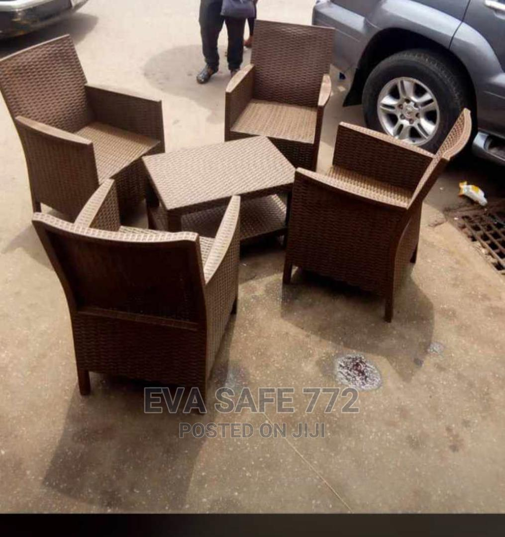 Unique Set of Outdoor Chairs