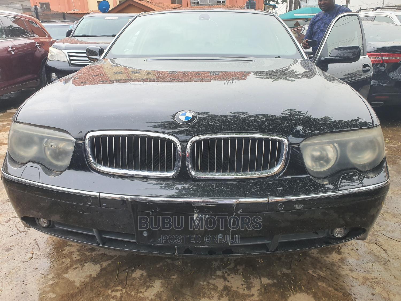 BMW 7 Series 2006 Black | Cars for sale in Ikeja, Lagos State, Nigeria