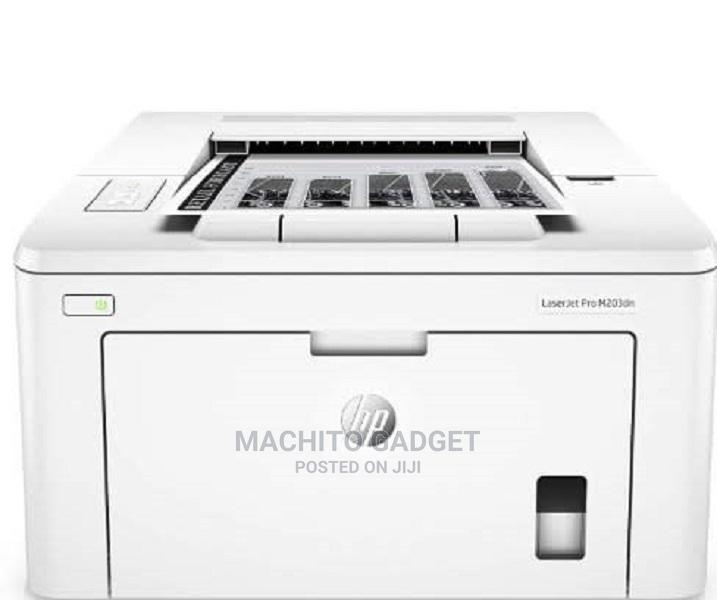 HP Laserjet Pro M203dn- Print + Auto Duplex + Network