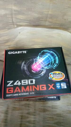 GIGABYTE Z490 Gaming X With Core I7 10th Gen Processor   Computer Hardware for sale in Lagos State, Ikeja
