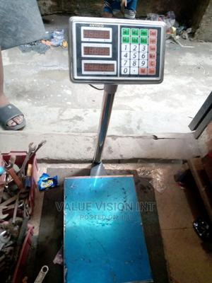 100kg Stainless Weighing Scale | Measuring & Layout Tools for sale in Lagos State, Ajah
