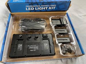 Photo Video LED LIGHT KIT (With Battery) PRO LED 600 | Accessories & Supplies for Electronics for sale in Oyo State, Ibadan