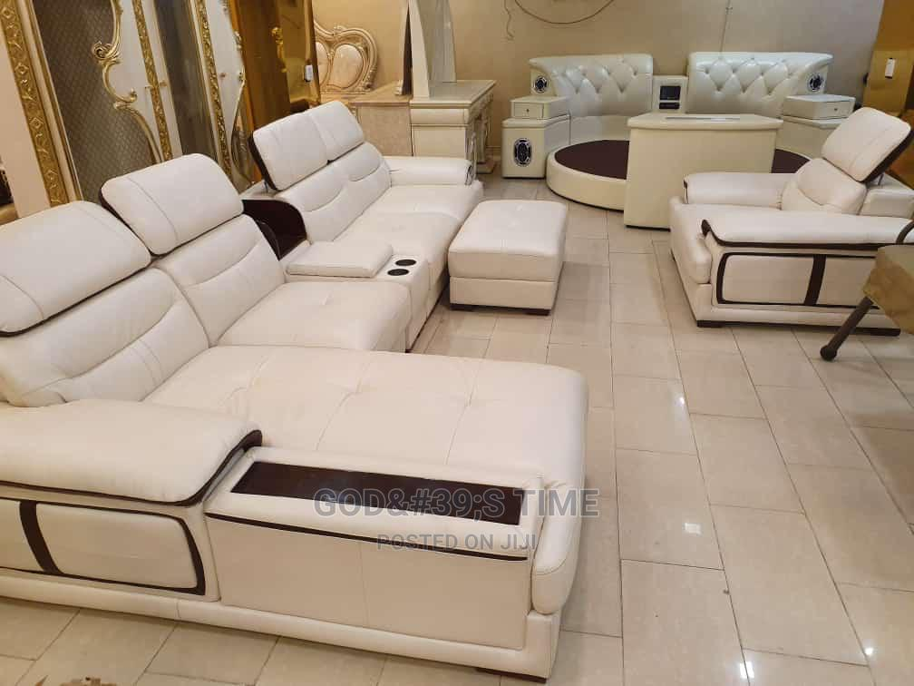 Pure Italian Leather Sofa Chairs