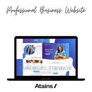 Professional Website Design in Lekki | Computer & IT Services for sale in Lagos State, Lekki