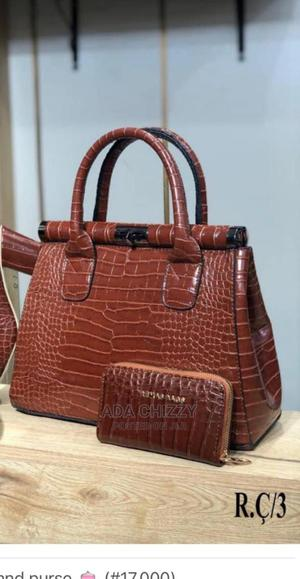 New Turkey Female Brown Leather Bags | Bags for sale in Lagos State, Ikeja