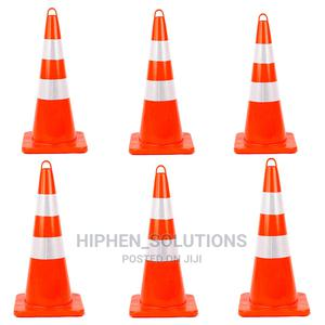 Unbreakable PVC Orange Construction Cones | Safetywear & Equipment for sale in Abuja (FCT) State, Gwarinpa