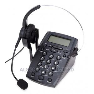 Corded Caller ID Telephone With Noise Cancellation Headset F   Computer Hardware for sale in Abuja (FCT) State, Wuse