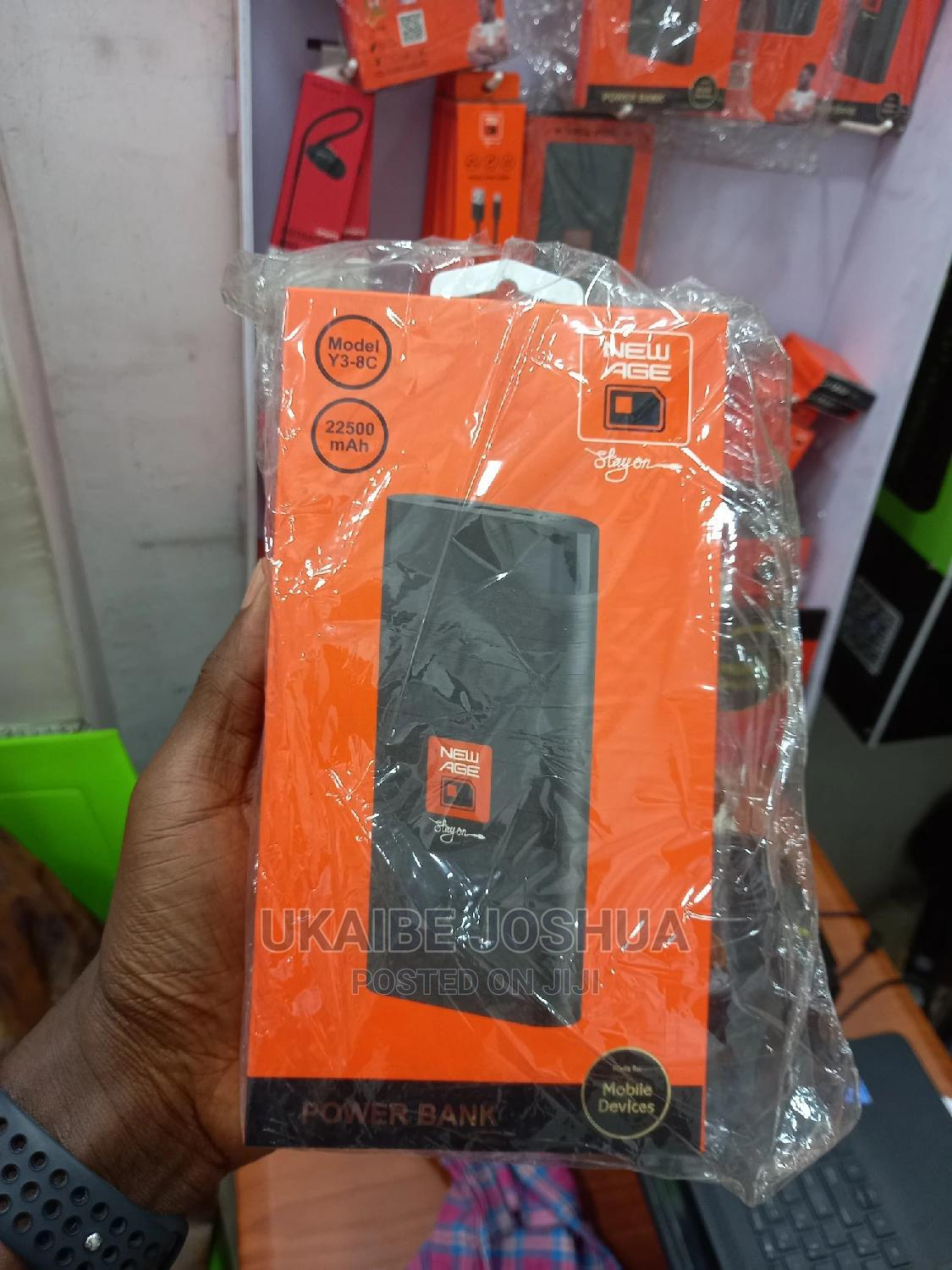 Archive: New Age Power Bank 22500mah
