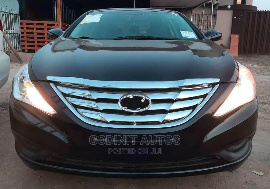 Hyundai Sonata 2012 Black | Cars for sale in Ogba, Lagos State, Nigeria