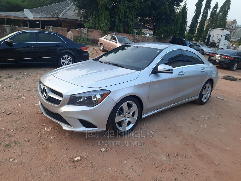 Mercedes-Benz CLA-Class 2015 Silver