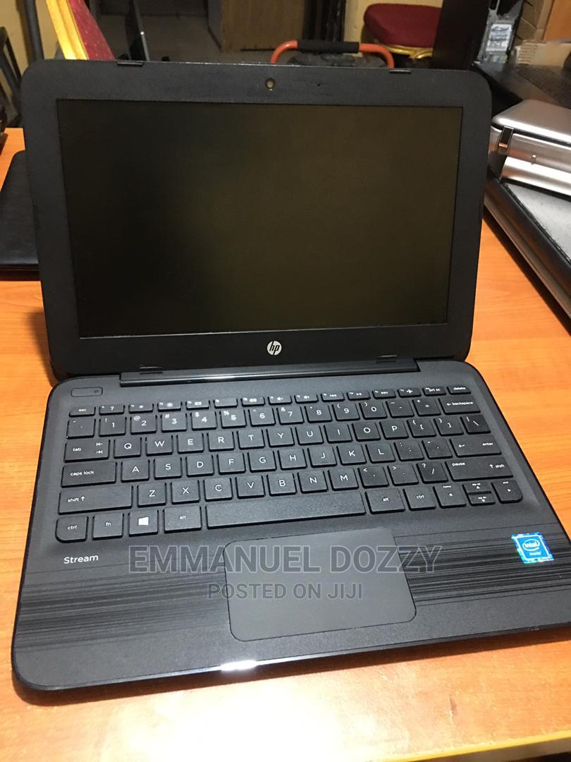 Laptop HP Stream 11 Pro G3 4GB Intel SSD 60GB | Laptops & Computers for sale in Ikeja, Lagos State, Nigeria
