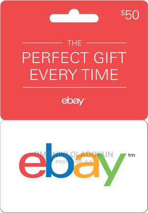 Ebay Gift Card $50-email Delivery   Accessories & Supplies for Electronics for sale in Lagos State, Ojodu