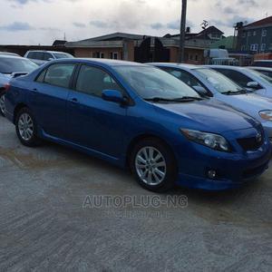 Toyota Corolla 2008 Verso 1.8 VVT-i Automatic Blue | Cars for sale in Lagos State, Amuwo-Odofin