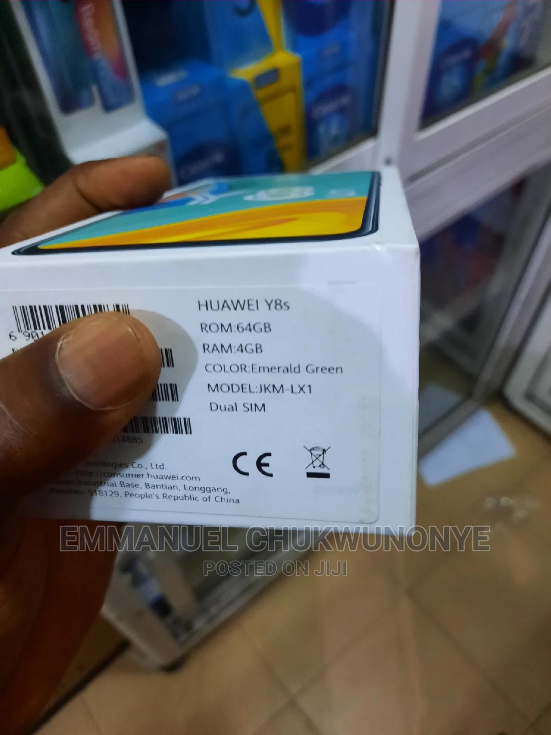 New Huawei Y8s 64 GB   Mobile Phones for sale in Ikeja, Lagos State, Nigeria